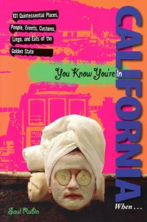You Know You're in California cover